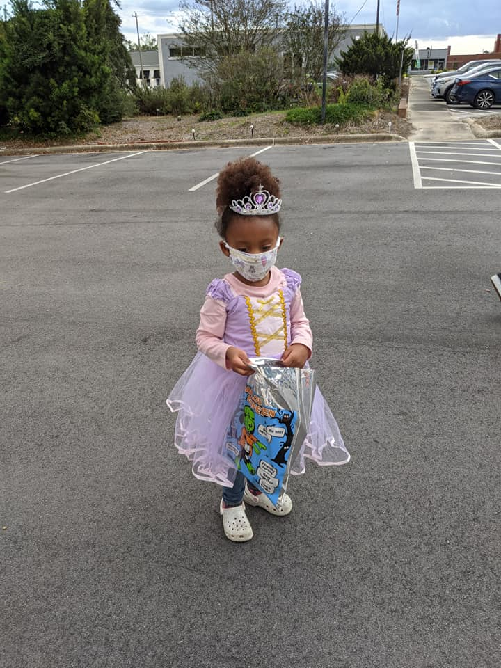 Halloween 2020 at library 3