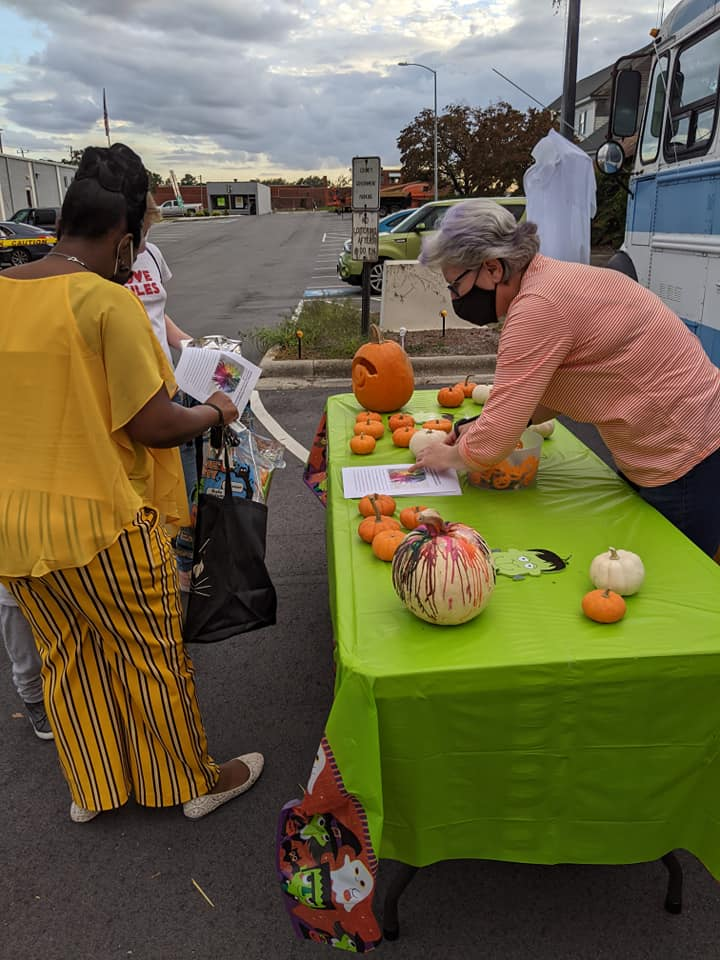 Halloween 2020 at library 4