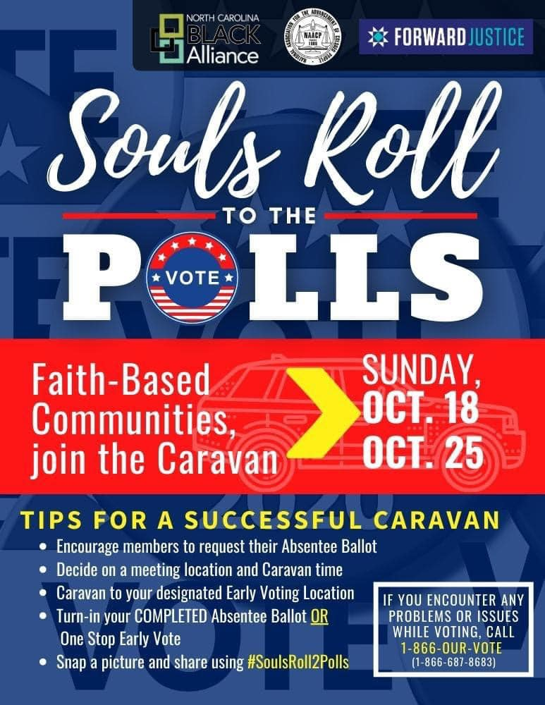 Meet you at the poll caravan