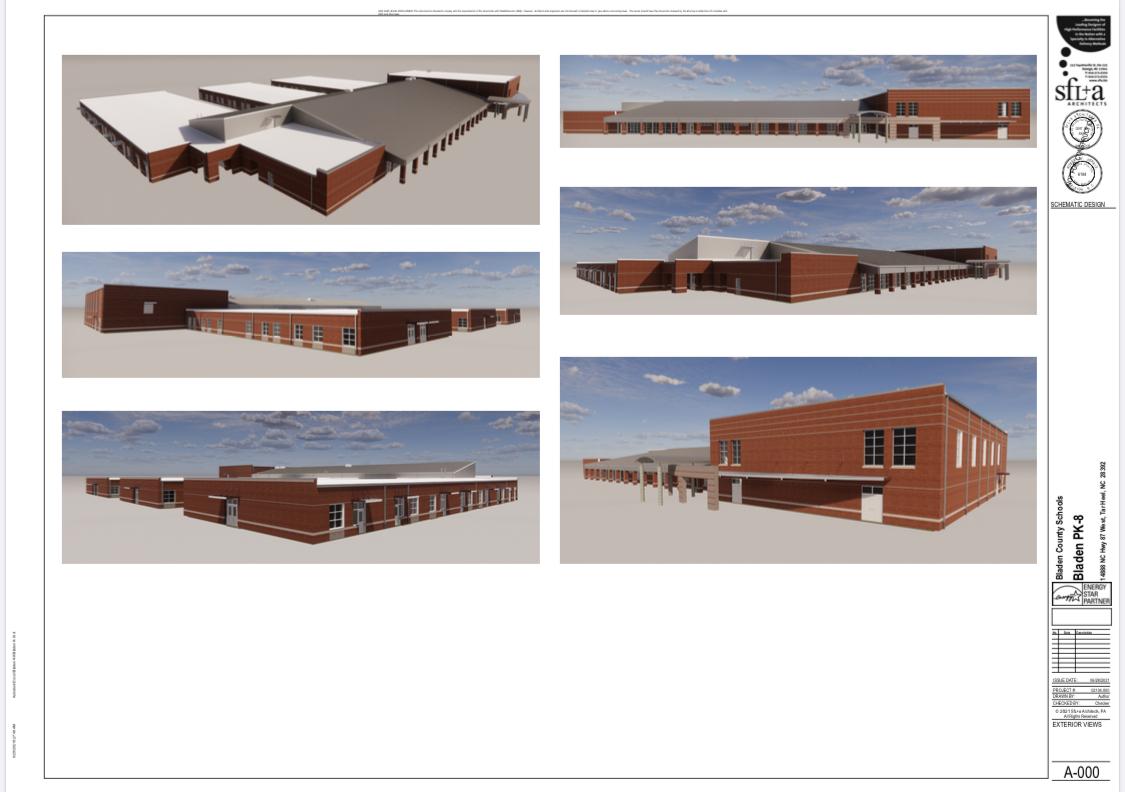 New Tar Heel School spec designs: