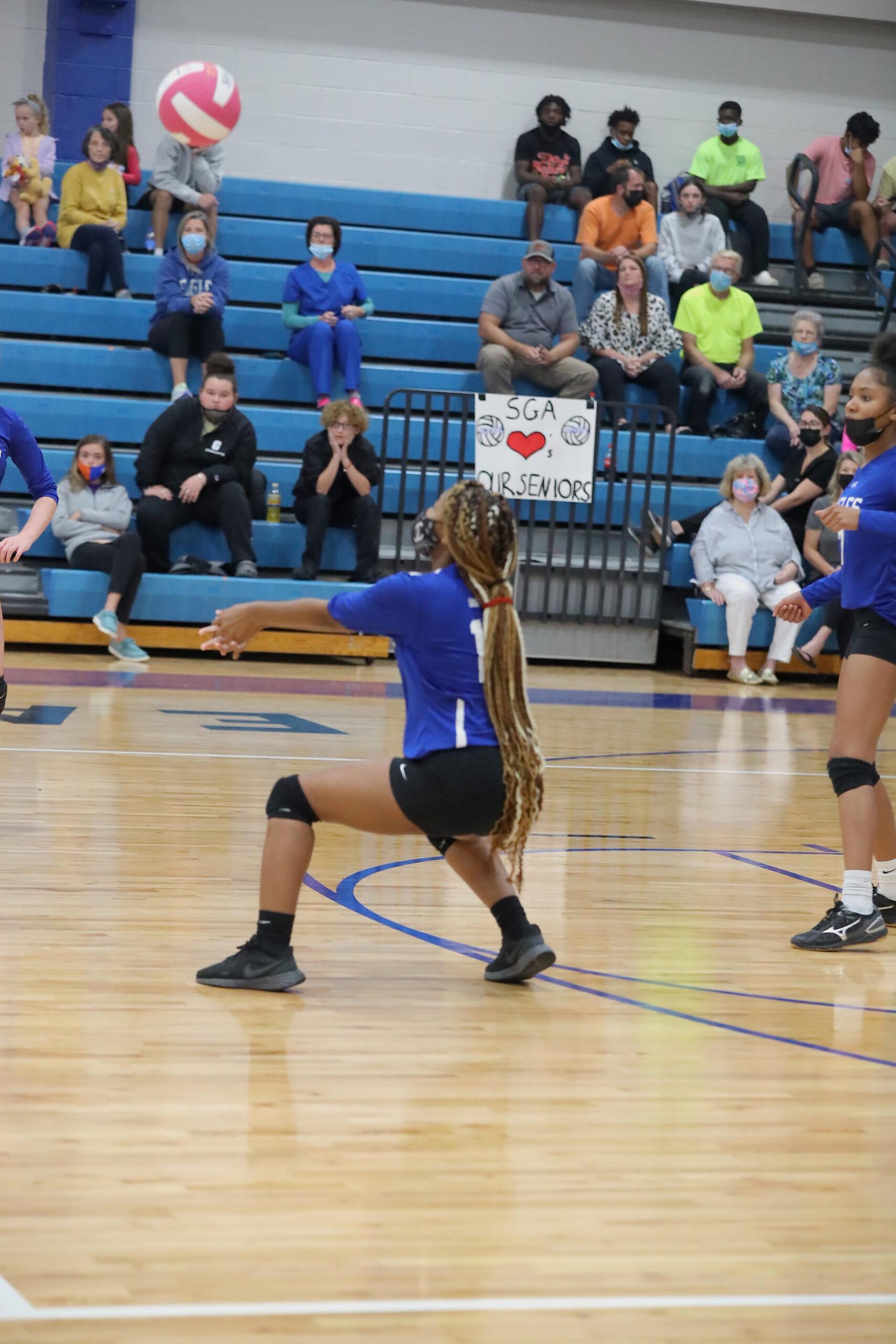 East Bladen jv Clinton volleyball 10/19/21